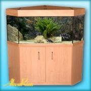 Угловой аквариум - 300 л