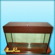 Продается аквариум 120л + крышка (18 ВТ + 18 ВТ, Т-8).