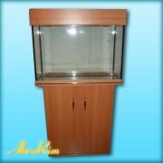 Продается аквариум 70 л + крышка (15 ВТ. Т-8) + тумба.