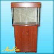 Продается аквариум 70 л + крышка (15 ВТ, Т-8) + тумба.
